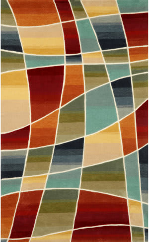 Trans-Ocean Amalfi Collage 1959/44 Multi Area Rug
