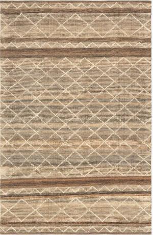 Trans-Ocean Artista Diamond Stripe 8450/22 Sisal Area Rug