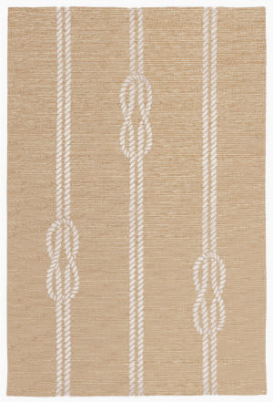 Trans-Ocean Capri Ropes 1636/12 Neutral Area Rug