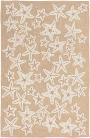 Trans-Ocean Capri Starfish 1667/12 Neutral Area Rug