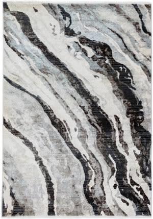 Trans-Ocean Calais Dunes 6078/47 Grey Area Rug