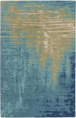 Trans-Ocean Corsica Reflection 9143/04 Ocean Area Rug