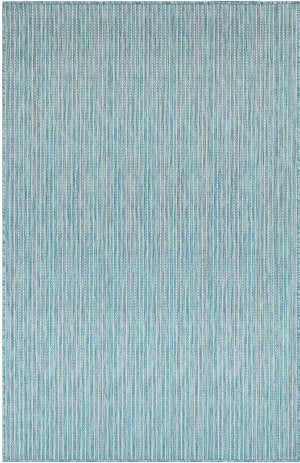 Trans-Ocean Carmel Texture Stripe 8422/04 Blue Area Rug