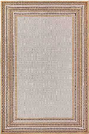 Trans-Ocean Carmel Multi Border 8425/12 Natural Area Rug
