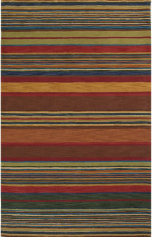 Trans-Ocean Inca Stripes 9441/44 Multi Area Rug
