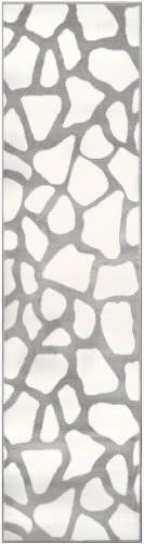 Trans-Ocean Luna Cobblestone 7316/12 White Area Rug