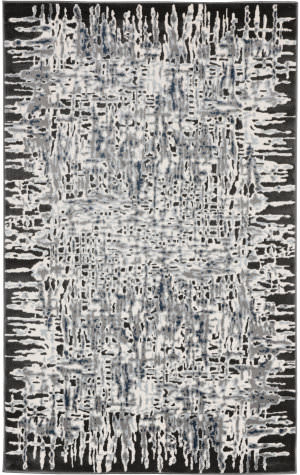 Trans-Ocean Lhasa Shadows 2707/97 Charcoal Area Rug
