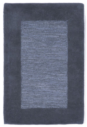 Trans-Ocean Madrid Border Blue Area Rug
