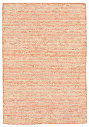 Trans-Ocean Mojave Pencil Stripe Orange Area Rug