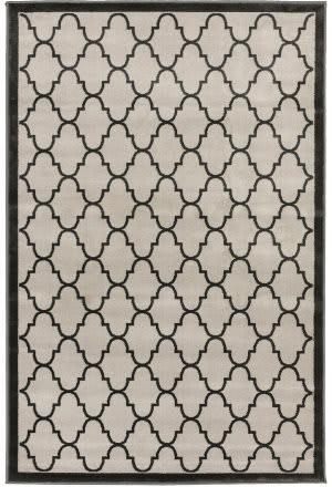 Trans-Ocean Monarchy Trellis 9701/47 Grey Area Rug