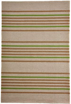 Trans-Ocean Napoli Stripe 7421/06 Green Area Rug