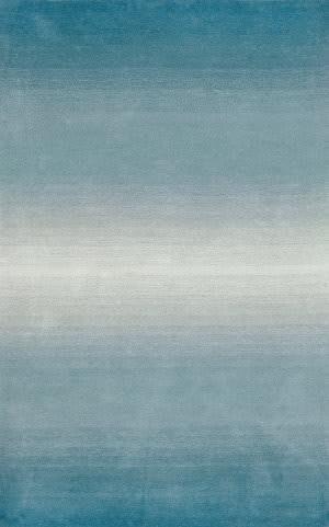 Trans-Ocean Ombre Horizon 9663/04 Aqua Area Rug