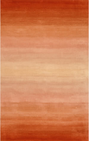 Trans-Ocean Ombre Horizon 9663/17 Orange Area Rug