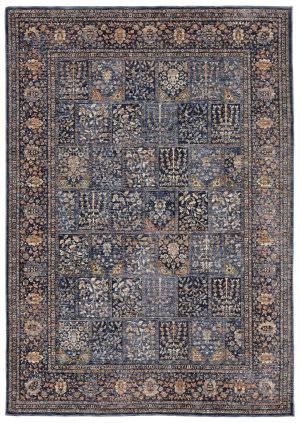 Trans-Ocean Palace Bakhtiari 8574/03 Blue Area Rug