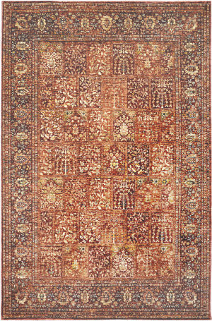 Trans-Ocean Palace Bakhtiari 8574/24 Red Area Rug