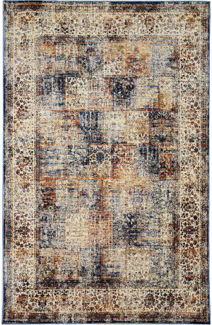 Trans-Ocean Palace Antique Panel 8575/12 Ivory Area Rug