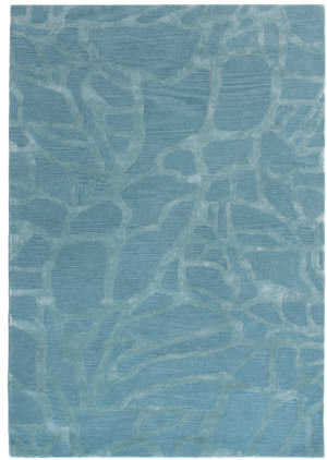 Trans-Ocean Roma Shapes 9303/11 Ice Area Rug