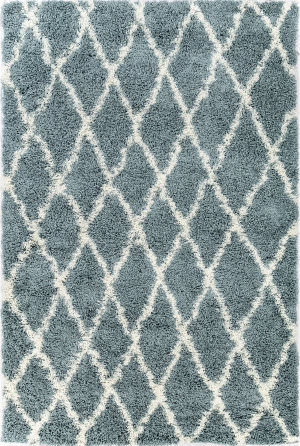 Trans-Ocean Rio Diamonds 6860/03 Blue Area Rug