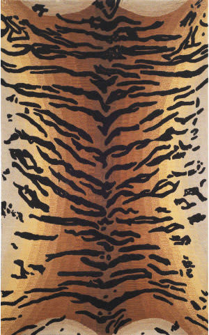 Trans-Ocean Seville Tiger 9644/19 Brown Area Rug