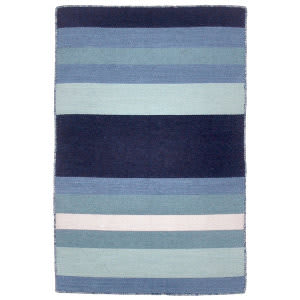 Trans-Ocean Sorrento Tribeca Blue Area Rug