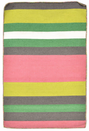 Trans-Ocean Sorrento Tribeca Pink - Grey Area Rug