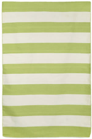 Trans-Ocean Sorrento Rugby Stripe 6302/16 Lime Area Rug