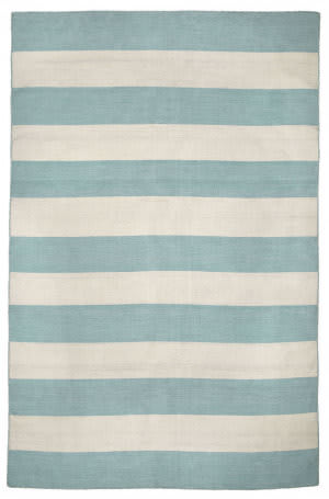 Trans-Ocean Sorrento Rugby Stripe 6302/93 Water Area Rug