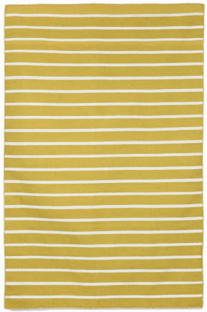 Trans-Ocean Sorrento Pinstripe 6305/09 Yellow Area Rug