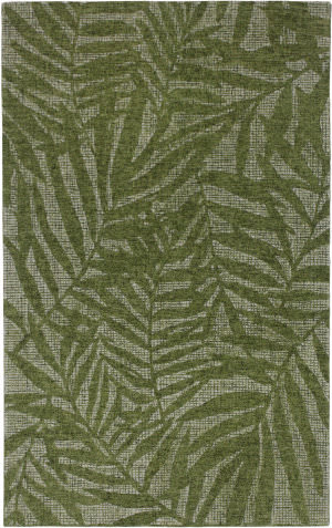 Trans-Ocean Savannah Olive Branches 9500/06 Green Area Rug