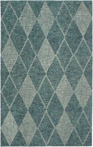 Trans-Ocean Savannah Diamond 9504/04 Teal Area Rug