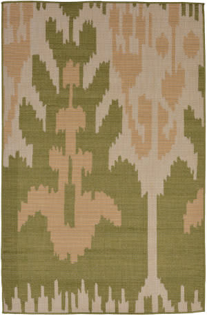 Trans-Ocean Terrace Ikat 2759/56 Meadow Area Rug