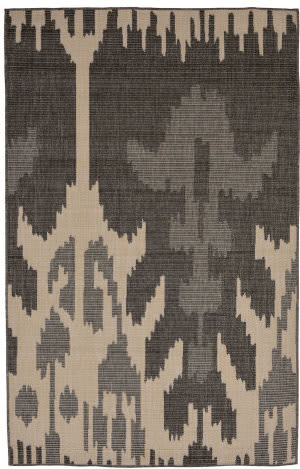 Trans-Ocean Terrace Ikat 2759/67 Grey Area Rug