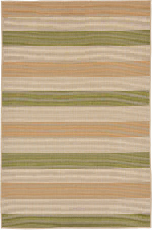 Trans-Ocean Terrace Multi Stripe 2762/56 Meadow Area Rug