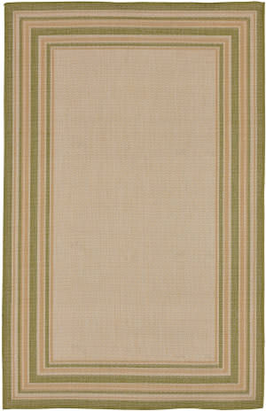 Trans-Ocean Terrace Multi Border 2763/56 Meadow Area Rug