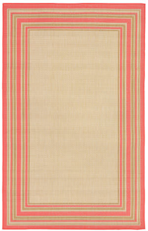 Trans-Ocean Terrace Multi Border 2763/74 Sunset Area Rug