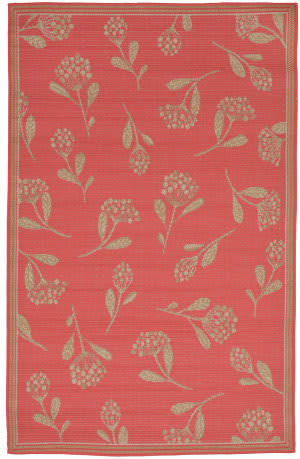 Trans-Ocean Terrace Summer Flower 2769/27 Sunset Area Rug