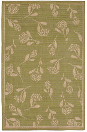 Trans-Ocean Terrace Summer Flower 2769/56 Meadow Area Rug