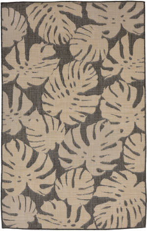 Trans-Ocean Terrace Fronds 2774/77 Neutral Area Rug