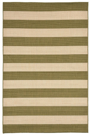 Trans-Ocean Tulum Rugby 1789/76 Green Area Rug