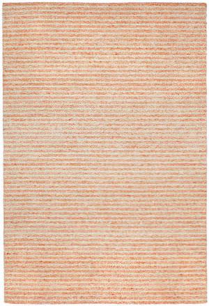 Trans-Ocean Wooster Stripes Orange Area Rug