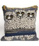 Trans-Ocean Frontporch Pillow Owls 1443/47 Night Area Rug