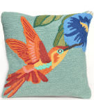 Trans-Ocean Frontporch Pillow Hummingbird 1527/03 Sky Area Rug