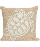 Trans-Ocean Frontporch Pillow Turtle 1634/12 Neutral