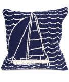 Trans-Ocean Frontporch Pillow Sails 1673/33 Navy
