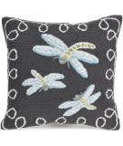 Trans-Ocean Frontporch Pillow Dragonfly 2048/47 Midnight