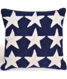 Trans-Ocean Frontporch Pillow Stars 4251/03 Blue