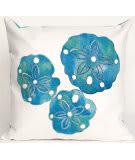 Trans-Ocean Visions I Pillow Sand Dollar 4140/12 Pearl Area Rug
