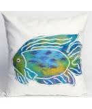 Trans-Ocean Visions Ii Pillow Batik Fish 3124/04 Aqua Area Rug