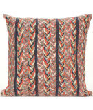 Trans-Ocean Visions Iii Pillow Braided Stripe 4125/19 Earth Area Rug