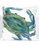 Trans-Ocean Visions Iii Pillow Blue Crab 4191/03 Sea Area Rug